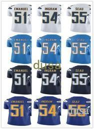 ... 2017 Custom Men Jersey 51 Kyle Emanuel 54 Melvin Ingram 55 J San Diego  Chargers ... 5ab5648fa