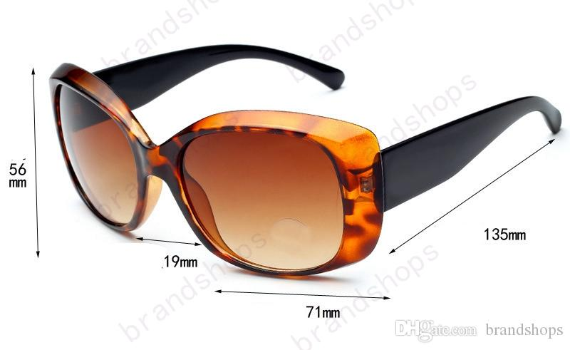 2017 Roman Gözlüğü Açık markalar tasarımcı Gözlük Güneş Gözlüğü bayan kadın siyah tonları Moda Retro orijinal Fermuar kılıf ile