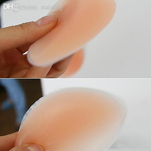 ed405fd362 Cheap Wholesale-Women s Silicone Gel Bra Inserts Pads Breast Enhancer  Push  Up  Padded Bra Retail Wholesale 5454