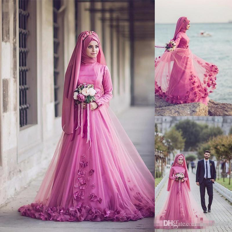 Compre 2017 Vestidos De Noche Musulmanes Formales Tradicionales A ...