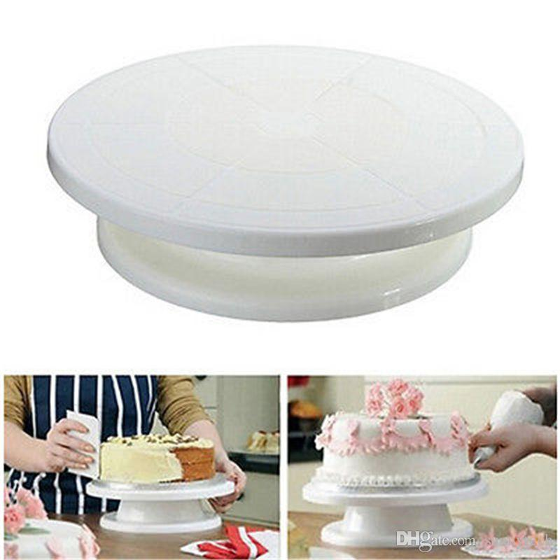 2018 Round Shape Cakes Turntable Rotating Cake Decoration Stand Mounting Pattern Tool Platform Swivel Plate Turntables Lz0268 From Sunnytech ...  sc 1 st  DHgate.com & 2018 Round Shape Cakes Turntable Rotating Cake Decoration Stand ...