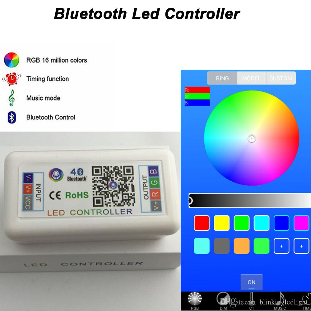 12W 3x3 Inch Smart Phone IOS & ANDROID Blue Tooth Control RGB Halo Ring Led Pods Many Flashing Modes and Color Changing Led Fog Light