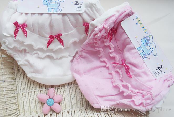 7445ebf7022 2019 Baby Girl Hot Selling 100% Cotton Underwear Girl Panties Baby Girl  Briefs White And Pink Color Wholesale /Pack From Children_place, $6.03 |  DHgate.Com