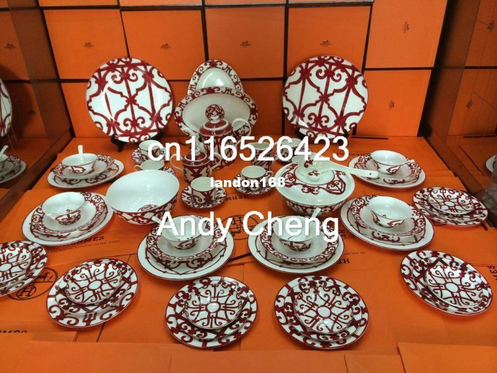 Delicieux 56 Piece Fine Bone China Dinner Set Dining Room Sets Service For 6 High  Quality Dinnerware Online With $2511.56/Set On Landon168u0027s Store |  DHgate.com