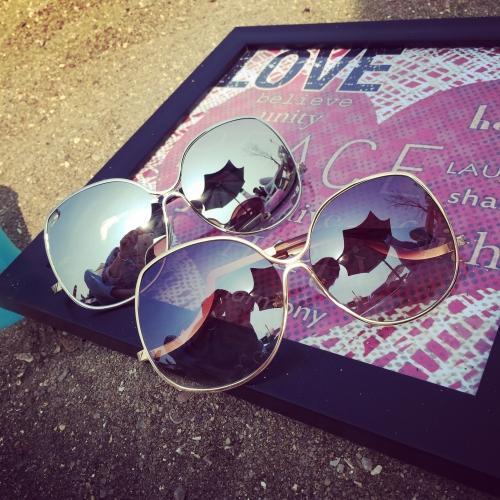 Spiegel Objektiv Frauen Sonnenbrillen VB Designer Fahren Angeln Retro Shades Butterfly Sonnenbrillen