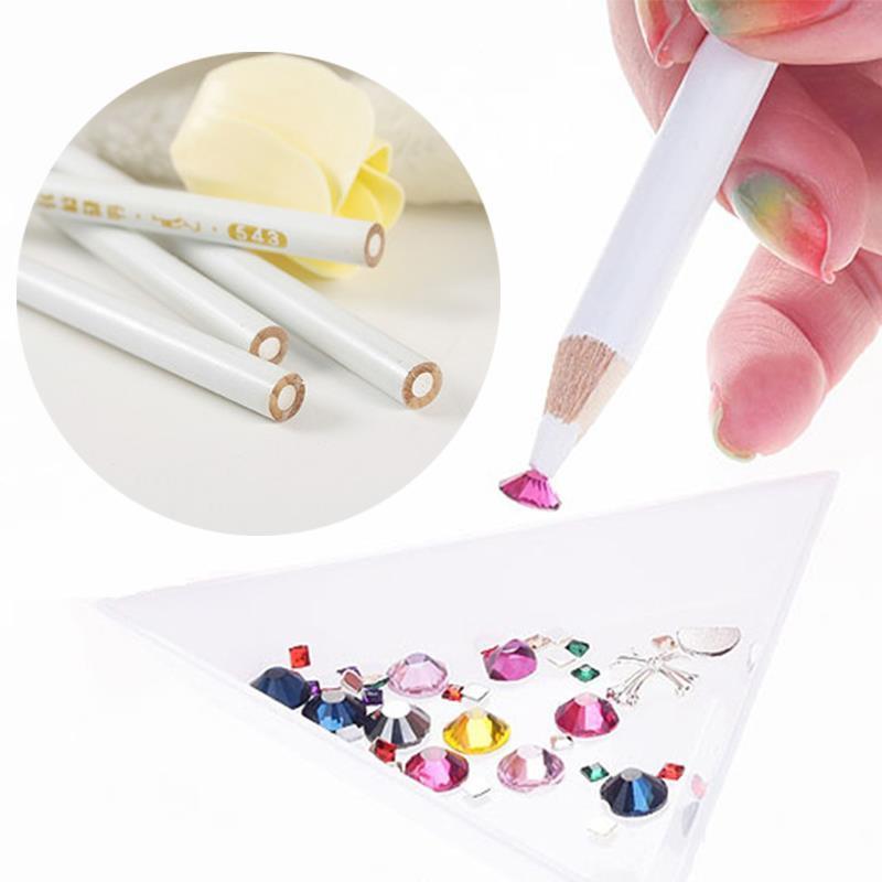 Wholesale Fashion Nail Art White Gems Painter Pencil Drill Point Pen ...