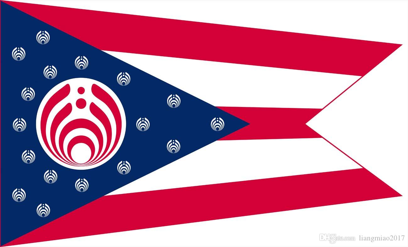 2019 Bassnectar Ohio State Decorative Flag 3ft X 5ft 100d Polyester