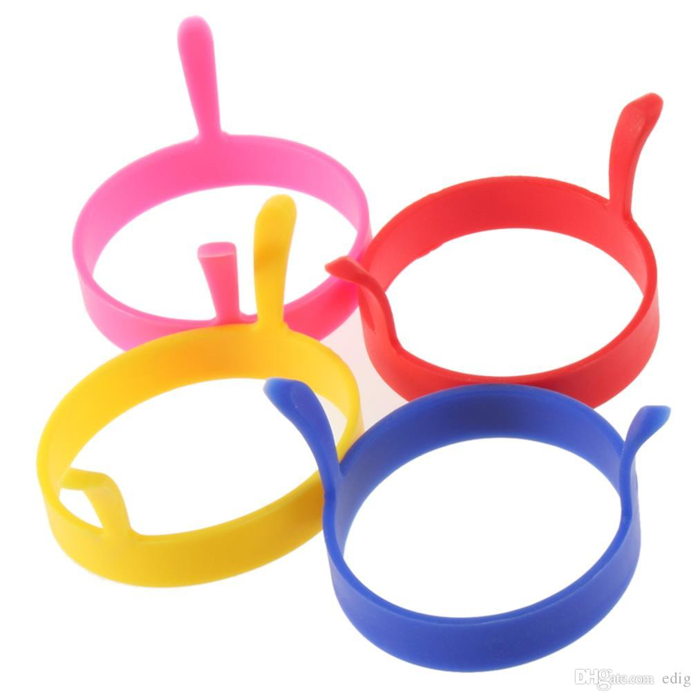 Recent Perfect Round shaped Silicone Fried egg mould ring for Kitchen