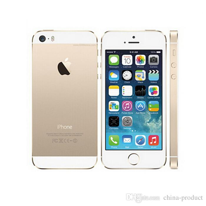 100% Original Refurbished 5s with Fingerprint Unlocked Smartphone 4 0
