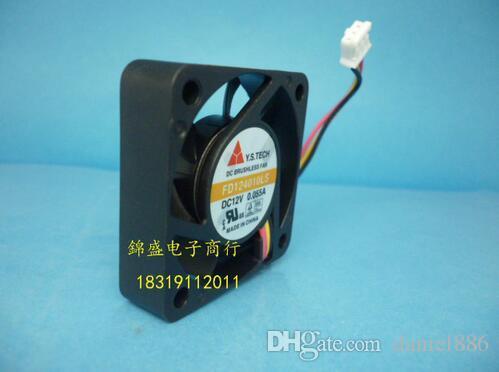 Подлинный Ю. С. 40*40*10 12В 0.055 в FD124010LS 3 провод бесшумный вентилятор