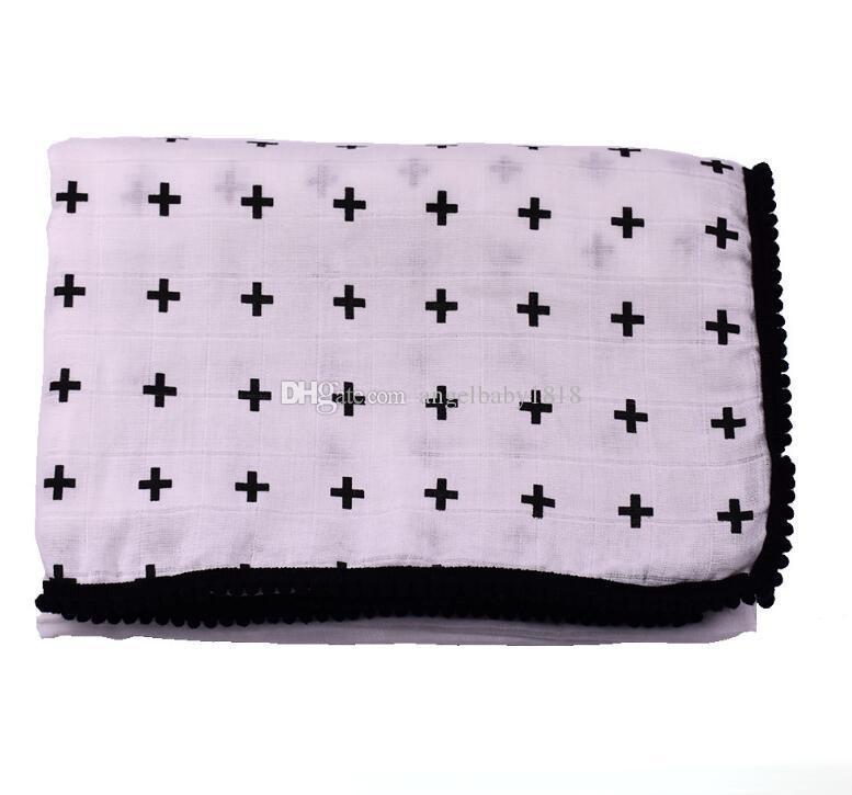 Muslin Swaddle Blankets Softest ins Baby Blanket Swaddle Newborn Wrap Stroller Nursing Cover Infant Bedding Bath Towels