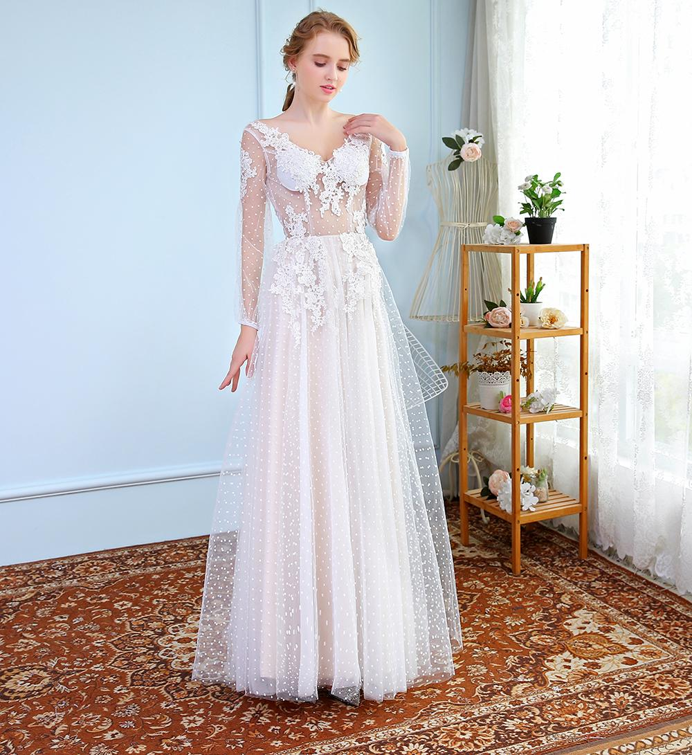 Ssyfashion Summer New High End Lace Evening Dress White Lllusion