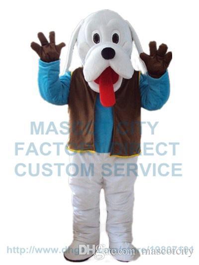 fbbd8f94a White Dog Mascot Costume Wholesale Hot Sale Popular Cartoon Dog ...