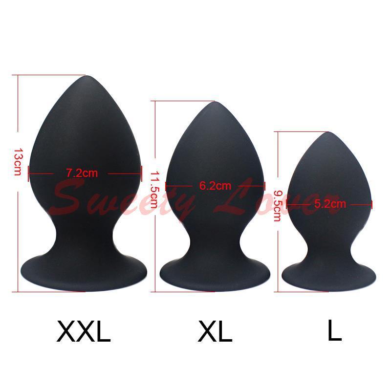 Super Big Size 7 Mode Vibrant Silicone Butt Plug Grand Vibrateur Anal Énorme Plug Anal Unisexe Érotique Jouets Produits de Sexe L XL XXL 17901
