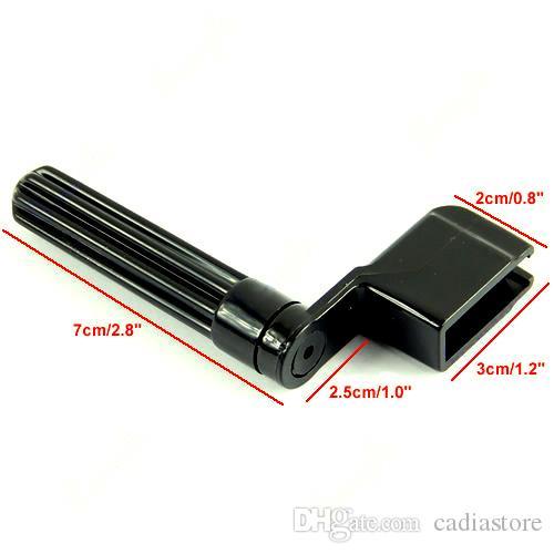 Plástico Acústico Da Guitarra Elétrica String Winder Peg Bridge Pin Ferramenta E00265
