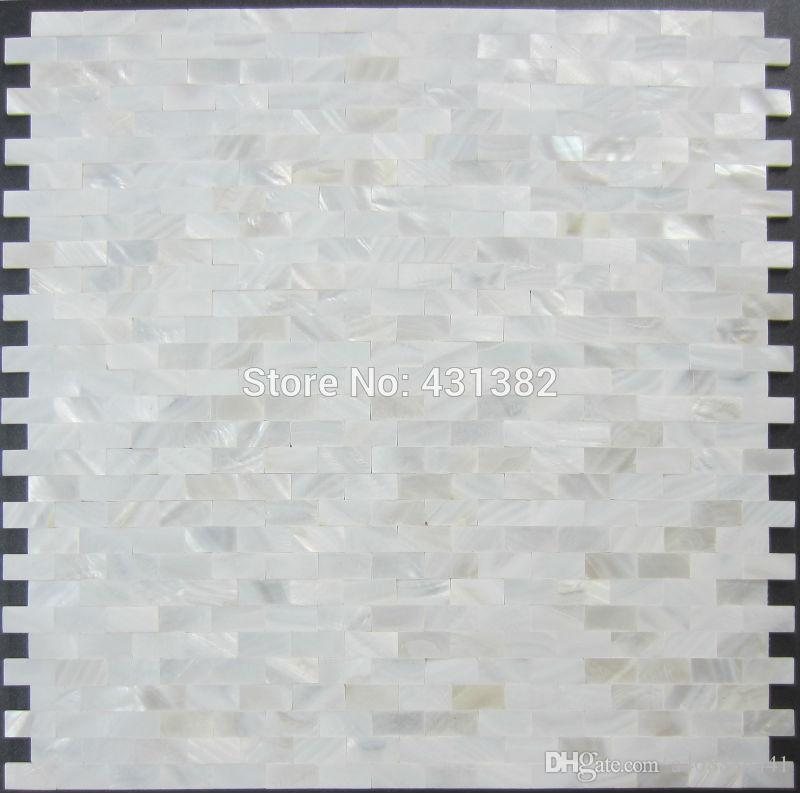 Grosshandel Shell Mosaik Perlmutt Fliese Backsplash Ziegel Meer