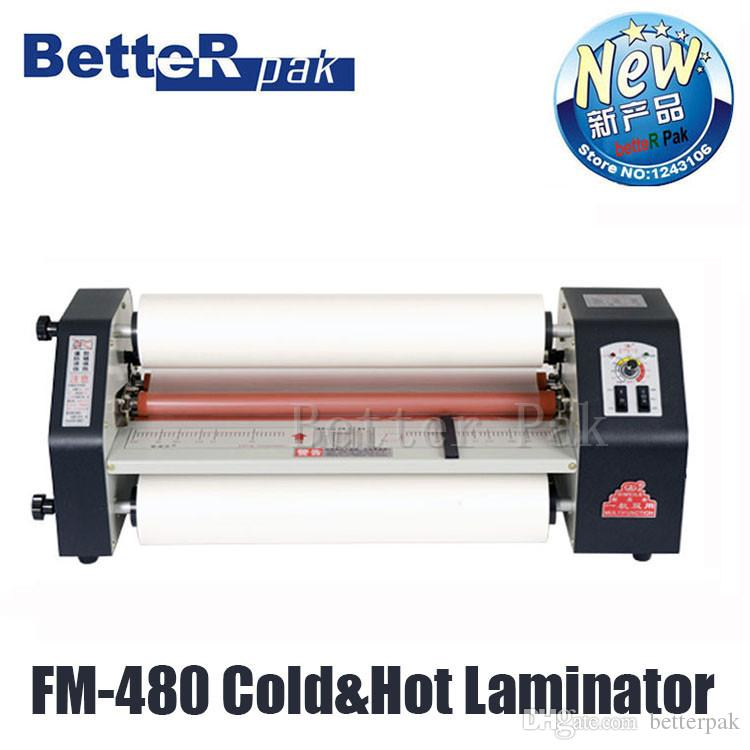 2018 Fm 480 Paper Laminating Machine,Cold And Heating Card ...