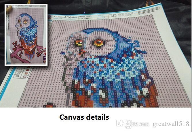 Full,Diamond Embroidery,Animal,Owl,5D,Diamond Painting,Cross Stitch,3D,Diamond Mosaic,Needlework,Crafts,Christmas,DIY Gift MT-041