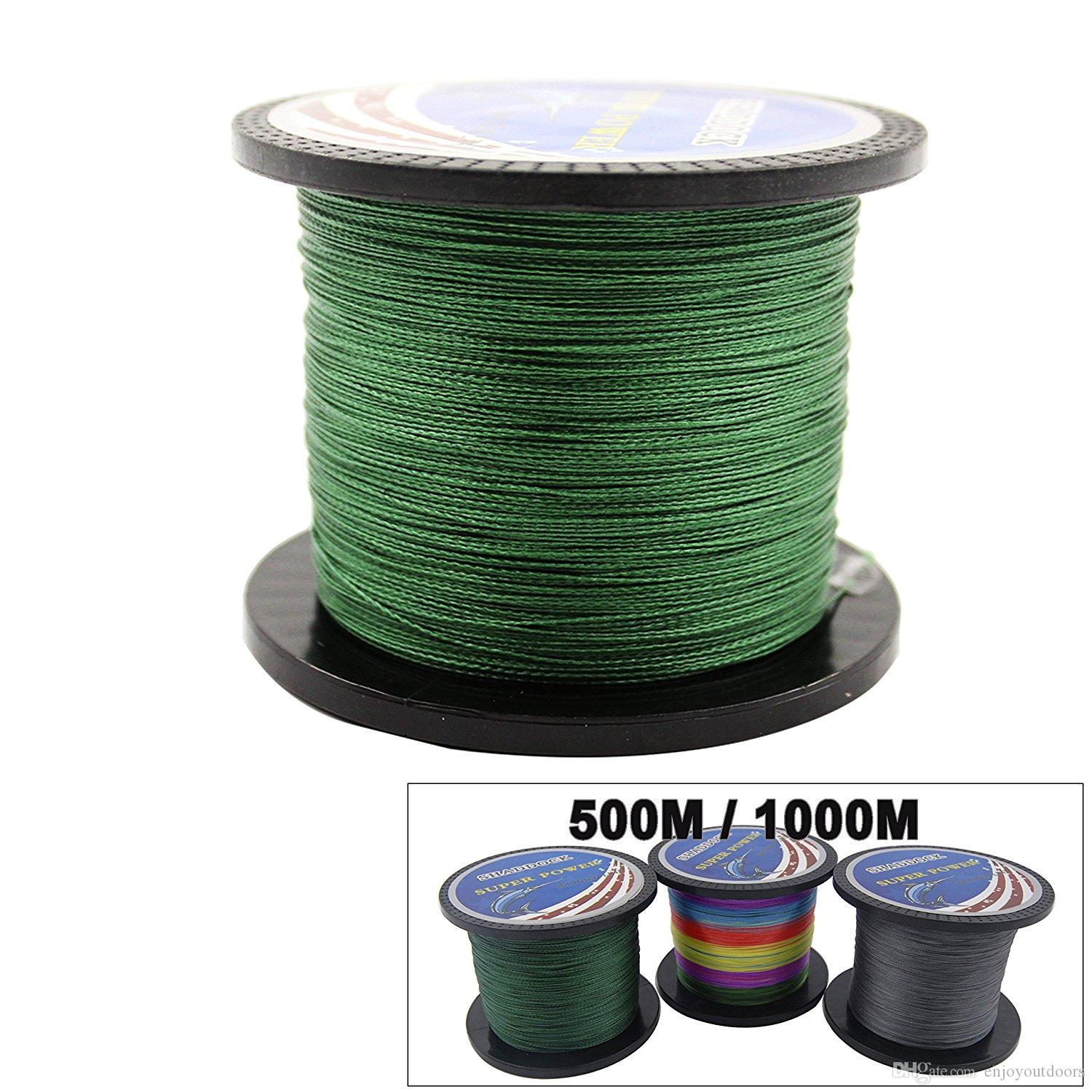 Super Strong 0.20mm 0.23mm 100% PE Braided Fishing Line 100M 300M 500M 1000M Advanced High-strength Fishing Super line with 4-Strands
