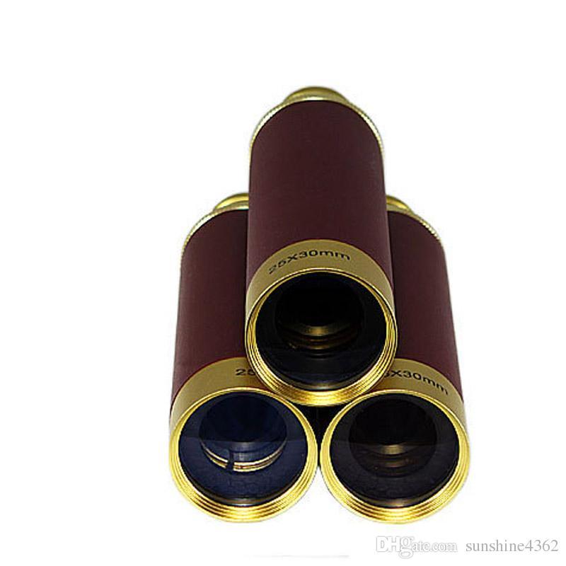 2016 caldo! New Double 25x30 pirata ad alta definizione ad alta definizione di visione notturna binocolo tascabile binocolo tascabile bellissimo regalo