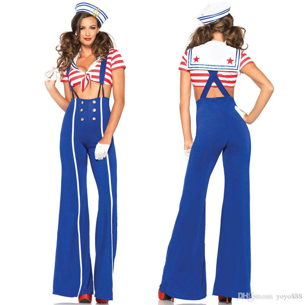 Sexy sailor costume for women