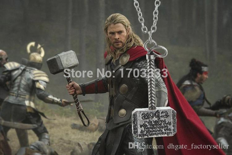 Os Vingadores MJOLNIR anel chave chaveiro Martelo chaveiro Chaveiro Os Vingadores Thor Martelo Thor Martelo Chaveiros Pingente