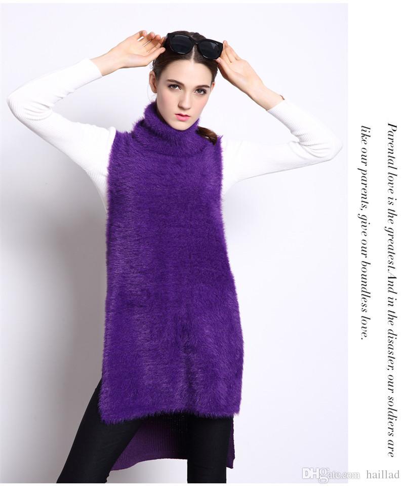 Compre Mink Cashmere Nuevo Casual Fashion Women\'s Sweater Jersey De ...