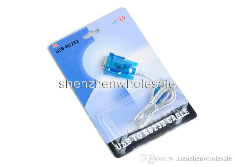 Новый CH340 USB к RS232 COM-порт последовательный PDA 9 pin DB9 кабель-адаптер поддержка Windows7 Оптовая