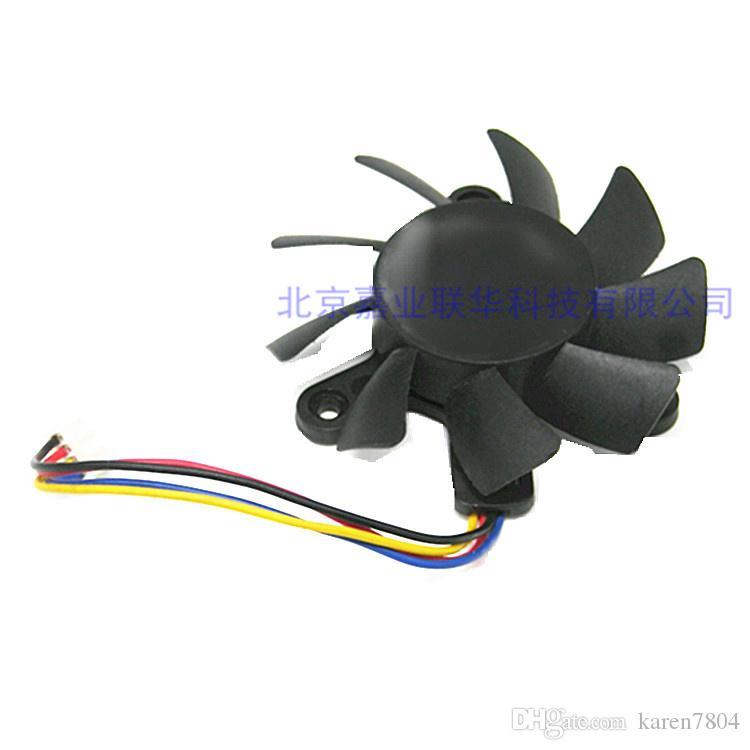 الأصلي TT 7015H12B-MF1 12V 0.40A الملعب 4.7CM قطرها 6.5CM 4 خطوط بطاقة الرسومات مروحة