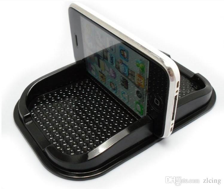 Carro multifuncional Anti Slip pad PU gel Prateleira Do Telefone Móvel Antiderrapante Mat Para GPS / iPhone / Celular Suporte Do Telefone 500 pçs / lote frete grátis