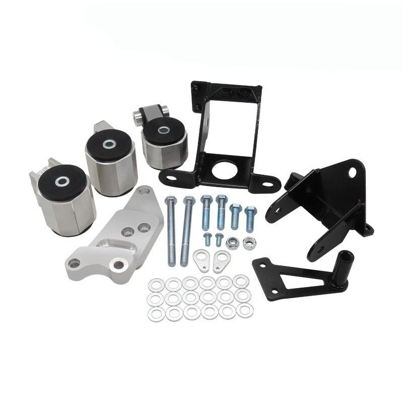 New arrived BILLET ENGINE MOUNT KIT Fits For 2006-2011 Honda Civic Non-SI w/ R18 engine 70A