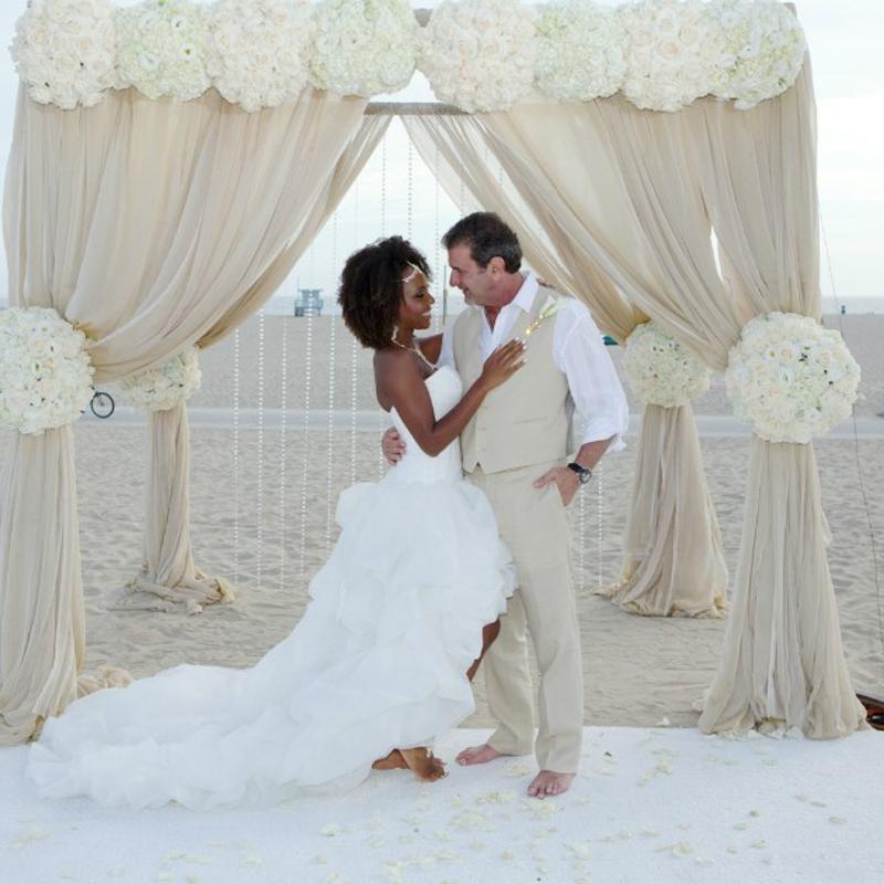 2016 Beach Hi Lo Bröllopsklänningar Sweetheart Cascading Ruffles Afrikansk stil Back Corset Vestidos de Novia Eleganta Brudklänningar