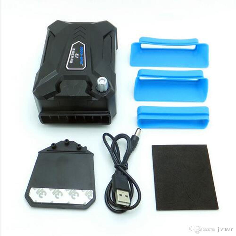 Coolcold Portable Portable USB Refroidissement Ventilateur Refroidisseur D'air Vitesse Réglable Ice Troll 3 Haute Performance Notebook Ventilateur Refroidisseur