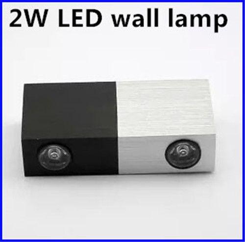 Großhandel Moderne 2 Watt Led Wandleuchte 2x1 Watt Epistar Chip Led Spot  Licht Dekoration Led Lampe Ac85 265v Für Hotel Toilette Badezimmer  Schlafzimmer Von ...