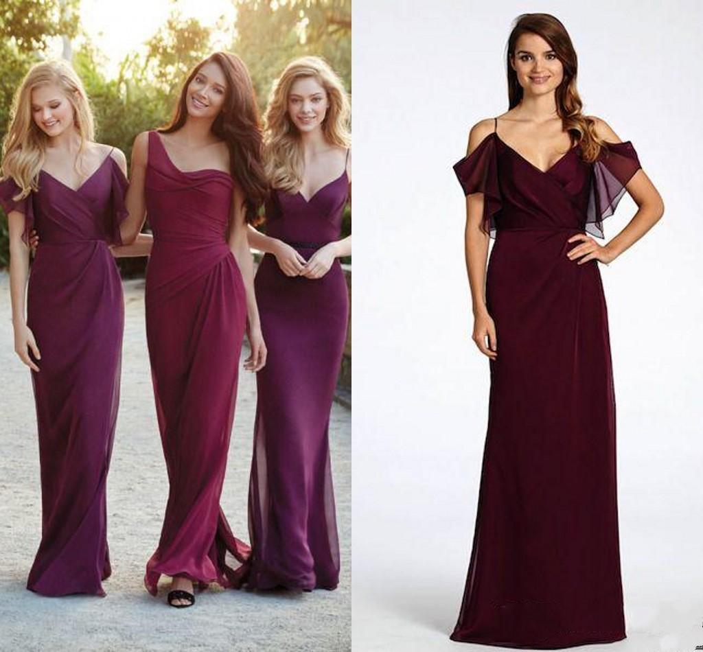 Jim hjelm occasions bridesmaid dresses draped v neckline off the see larger image ombrellifo Gallery