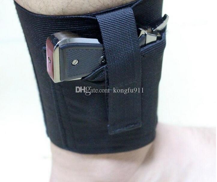 Fondina pistola universale gamba destra / sinistra con portamonete nascosta LCP LC9 PF9 Small