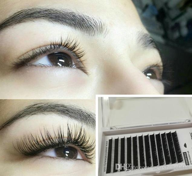 Factory Price Synthetic Hair Individual Eyelashes Natural False Eye