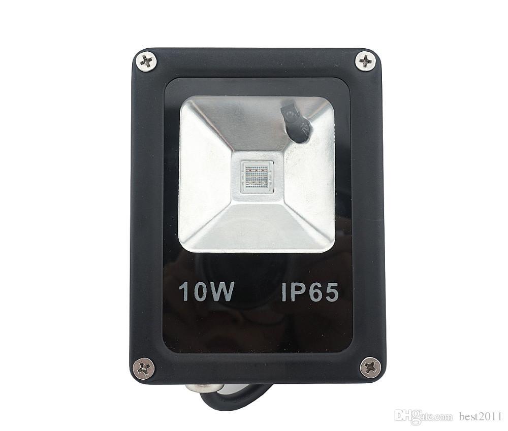 공도 옥외 벽을위한 IP65 방수 램프를 바꾸는 RGB LED 홍수 연한 색을 바꾸는 10W 색깔