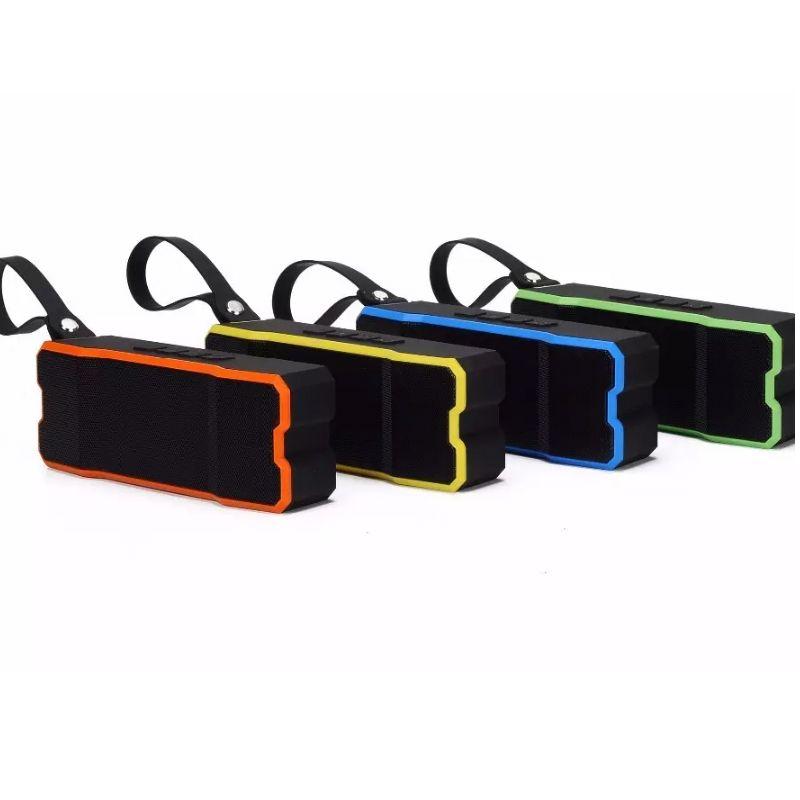 BT801 im Freien wasserdichte IP65-Level-Bluetooth-Lautsprecher Tragbare Mini-Mini-Audio-MP3-Musik-Subwoofer Freisprecheinrichtung Anruf