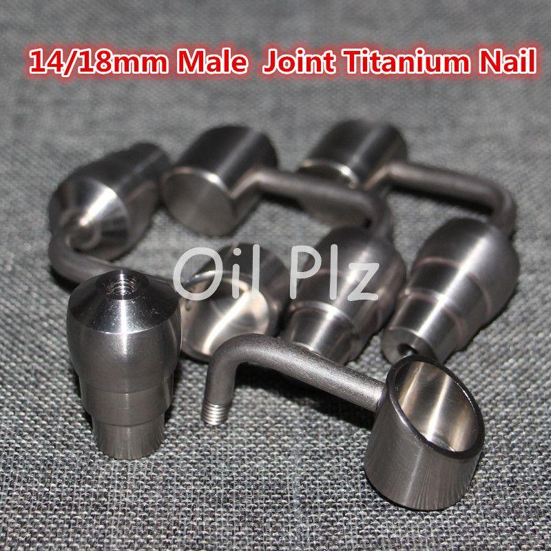 도매 티타늄 돔 손톱 손톱 티타늄 못 14 18mm 물 파이프 유리 봉 중국에서 만든 흡연