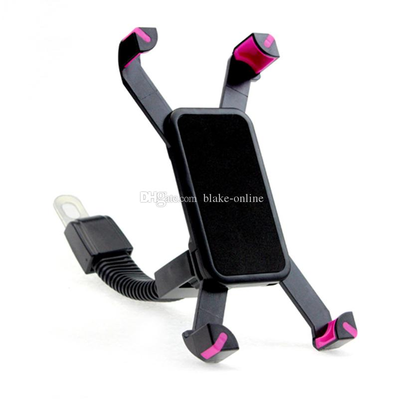 Universal Motorcycle Motorbike Car Mount Holder Phone Stand Rearview Mirror Mounting Bracket for Cell Phone GPS