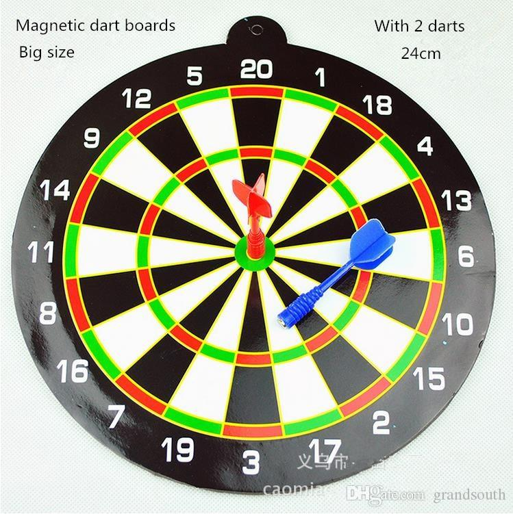 2019 New Magnetic Dart Boards With 2 Darts Included Kid Educational