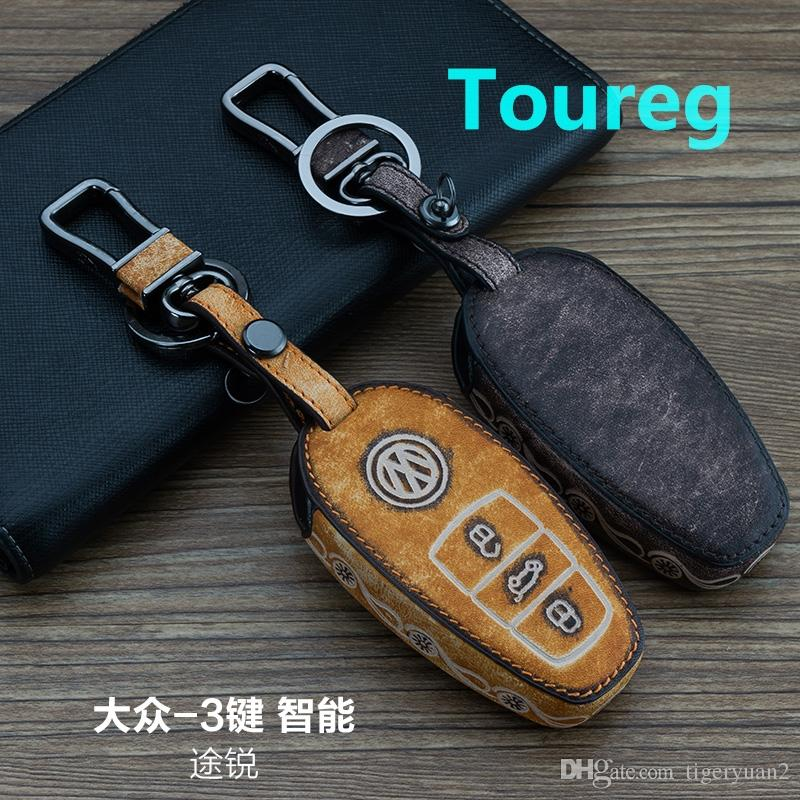 Car Key Case For Volkswagen Touareg Smart 3buttons Cars Keychain 100 ...