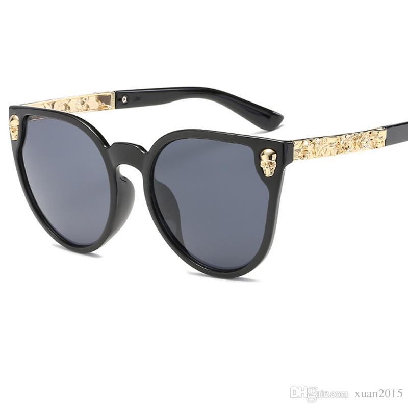 645bc427d84 2017 Brand Designer Cat Eye Sunglasses Women HD Lens Glasses Hot ...