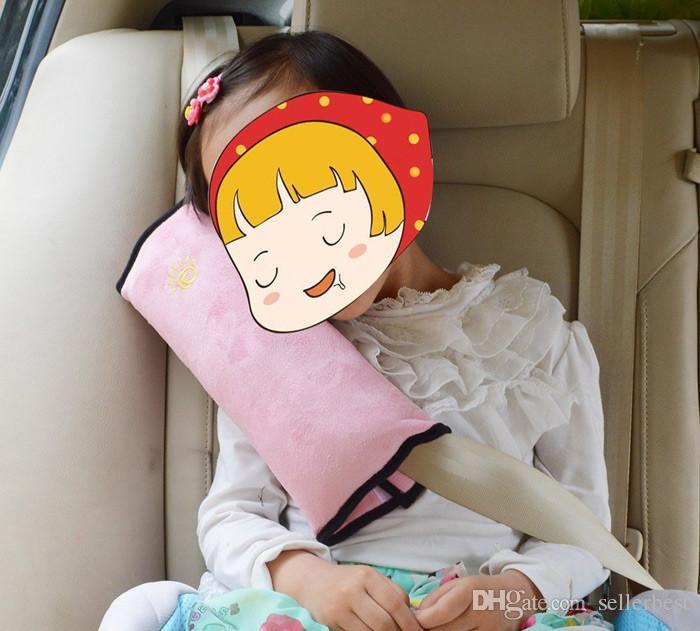 Baby Auto Cuscino Auto Copre la cintura di sicurezza Spallina Copertina Veicolo Baby Car Cintura cuscino bambini Bambini Car Styling
