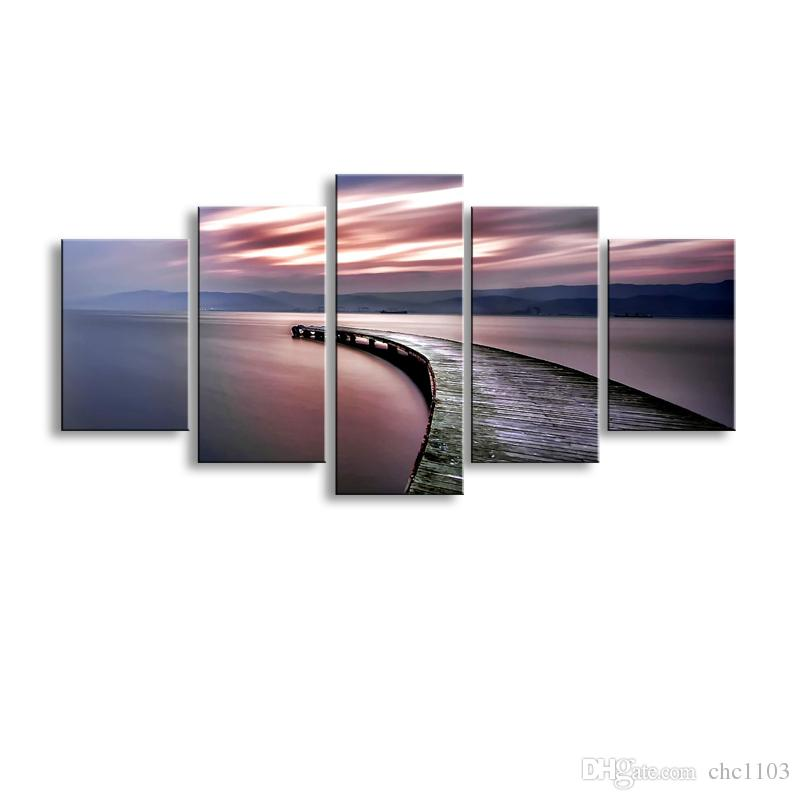 2018 high definition print abstract canvas oil painting poster and