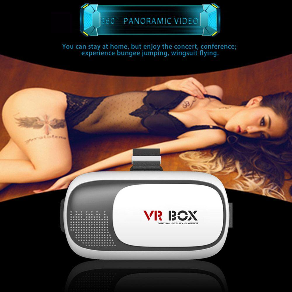 Nouvelle réalité virtuelle VR BOX II 2.0 Version 3D Lunettes Google Carton VR Lunettes 3D Vidéo Film Jeu pour Smartphones 4.7-6 pouces