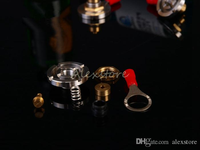 510 Connector Adapter Update Version Thick Spring Loaded for Mechanical 510 Thread Brass Pin 22mm DIY Universal Adaptor Assy for Box Mod