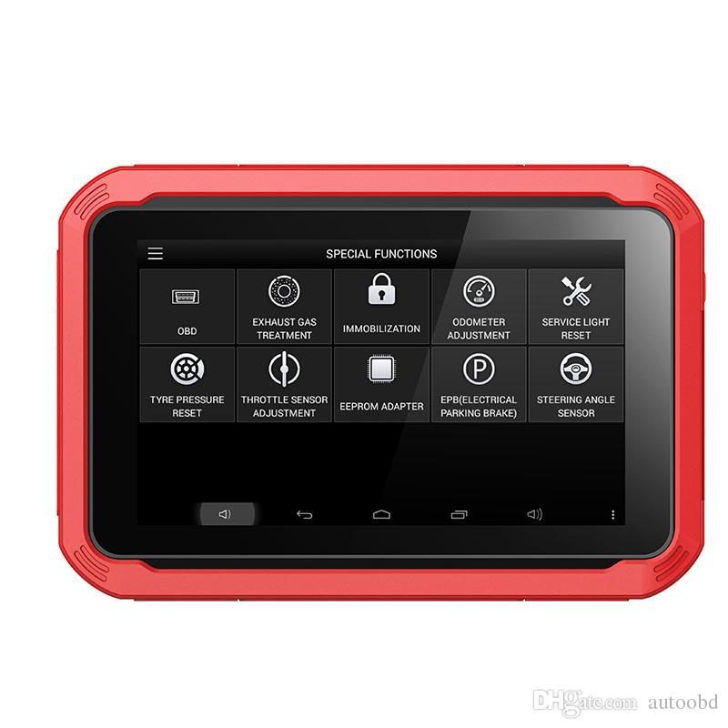 XTOOL Orijinal X100 Ped Oto Anahtar Programcı Yağ Istirahat Aracı Kilometre Sayacı Ayarı Ücretsiz Güncelleme Çevrimiçi X100pad fonksiyonu olarak X300 pro
