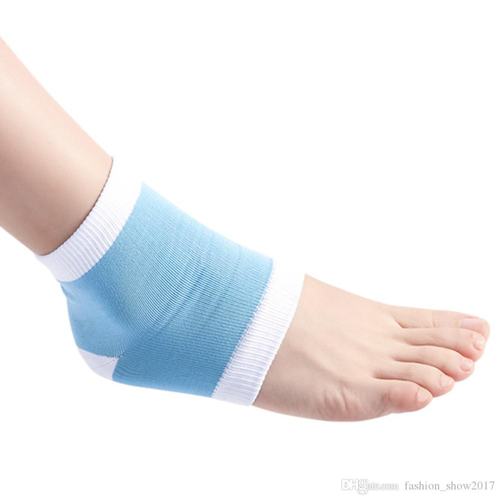 Unisex Jel Topuk Çorap Nemlendirici Spa Jel Çorap ayak bakımı Çatlak Ayak Kuru Sert Cilt Koruyucu Ayak Bakımı Aracı